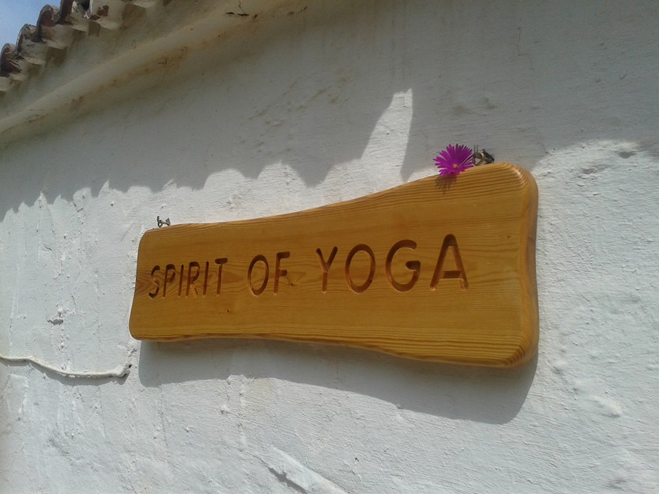 Spirit of Yoga Sign